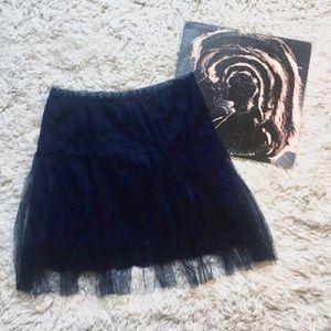 Rodarte tulle lace skirt